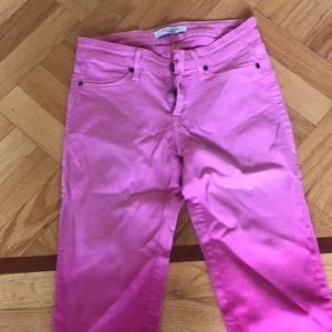 Rich and skinny pink jeans